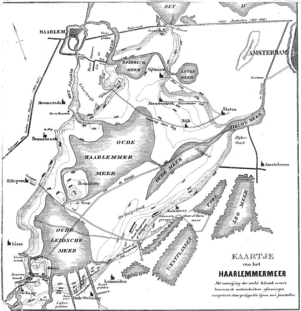 map old haarlemmermeer
